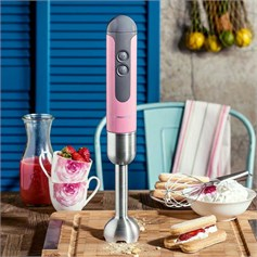 Korkmaz Mia Duo Pembe Blender Set